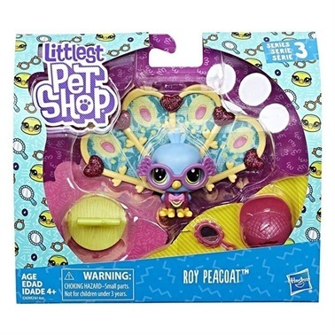 Littlest Pet Shop Littlest Pet Shop Süslü Özel Miniş Roy Peacoat Renkli